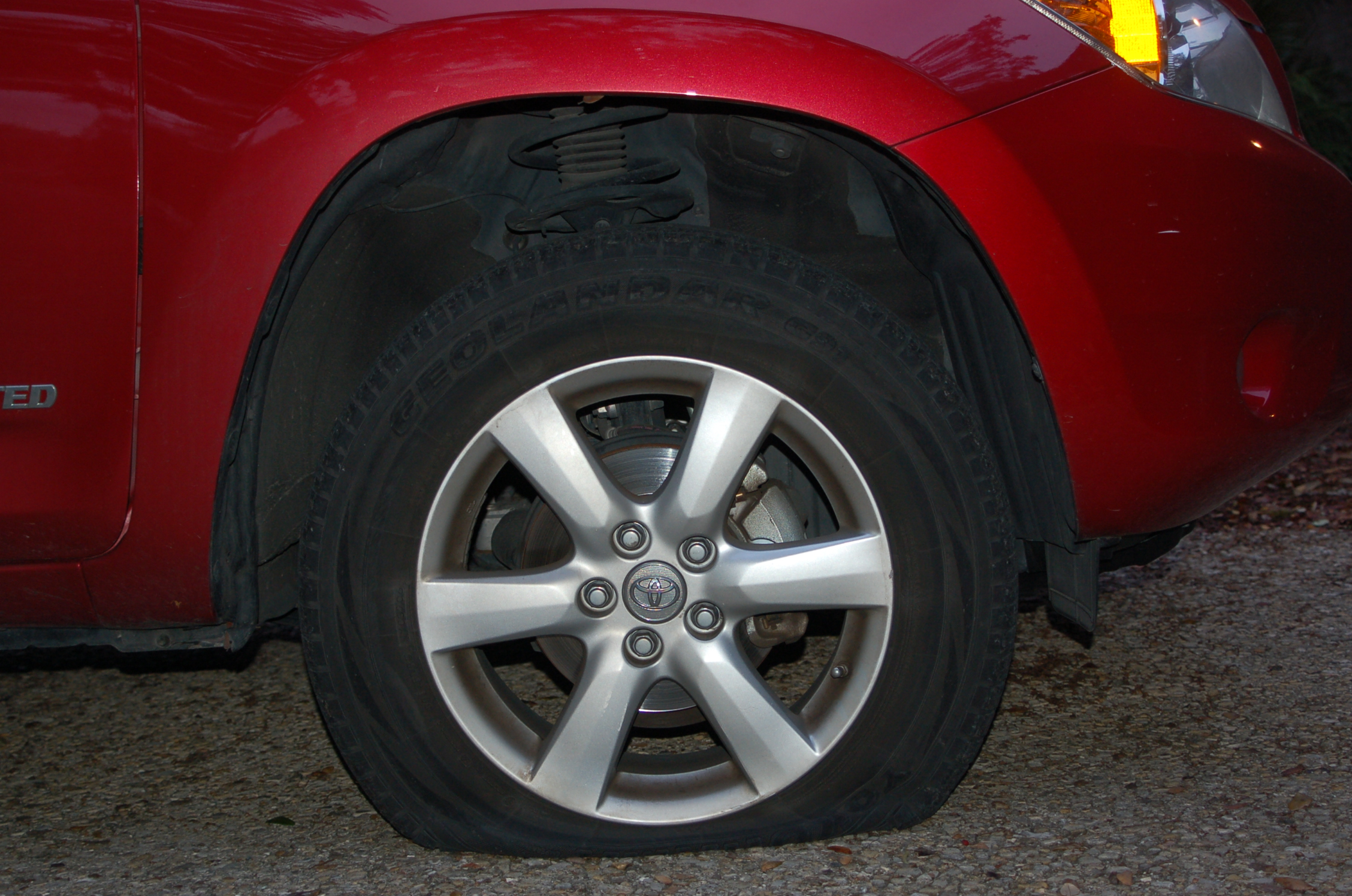 Car Tire Locks Up While Driving