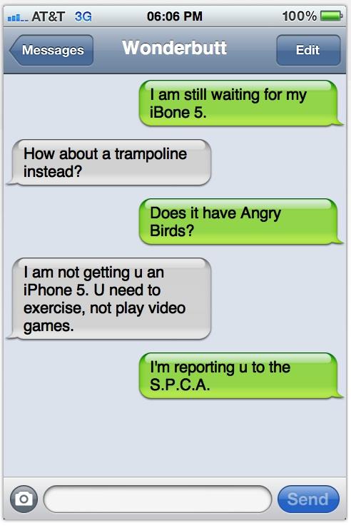 Dirty Teacher Texts