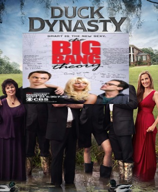 of duck dynasty and the cast of big bang theory were playing family