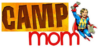 I hate to tell these moms, but they are doing this all wrong.  This looks too fun.  YOU'RE MAKING A BIG MISTAKE, CAMP MOM DIRECTORS!