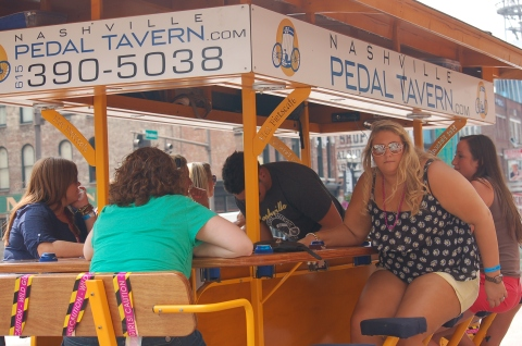 Nashville Pedal Cab
