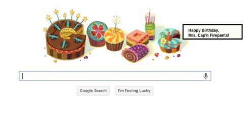 googlebirthdayfirepants