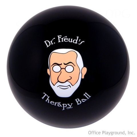 picture from:  http://www.amazon.com/Accoutrements-11742-Freuds-Therapy-Ball/dp/B000R820QC/ref=pd_sim_hi_3